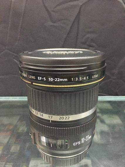 Lente Canon Ef-s 10-22mm F3.5-4.5 Usada