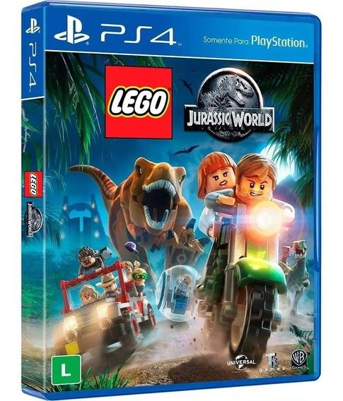 Lego Jurassic World Ps4 Mídia Física
