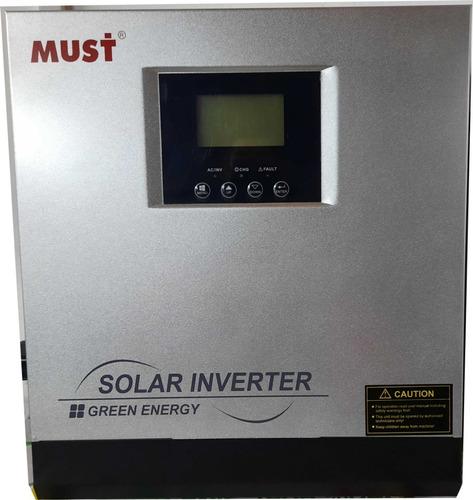 Imagen 1 de 4 de Inversor Cargador Solar Must 3kw 24v 220v Pwm 50a Onda Pura
