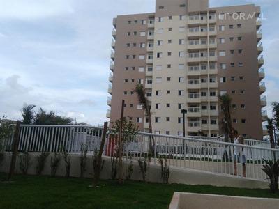 Apartamento Com 2 Dormitórios Para Alugar, 64 M² Por R$ 1.500/mês - Satélite - Itanhaém/sp - Ap0115
