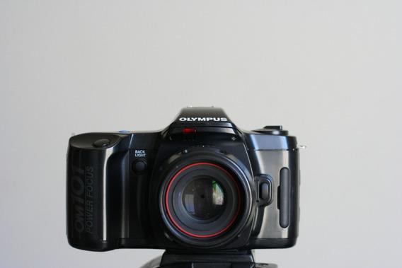 Camera Analogica Olympus Om101 Para Decoração Ou Peças