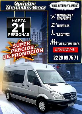 Renta De Camionetas Van Expess, Sprinter *precio/seguridad