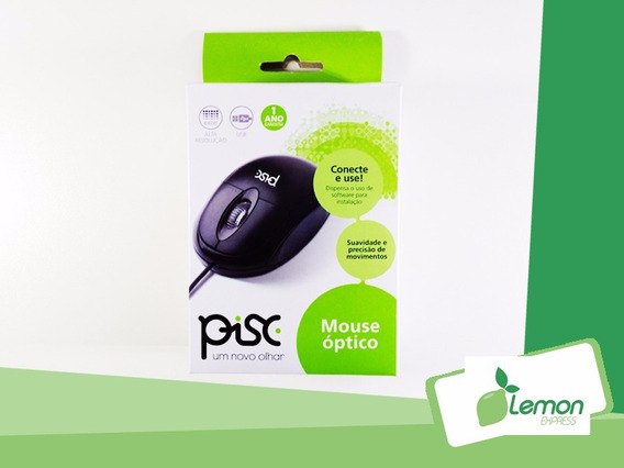 Mouse Pisc Funcional Bom Barato