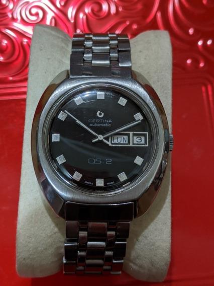 Reloj Vintage Certina Ds2 Tortuga