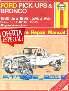 Manual Taller Diagramas Ford F150 F250 F350 1980 - 1994