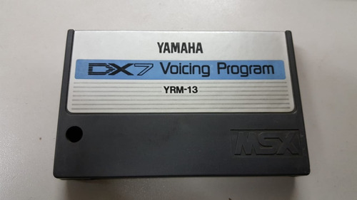 Cartuchos Msx Musical Yamaha Original   Dx7 Voicing Program