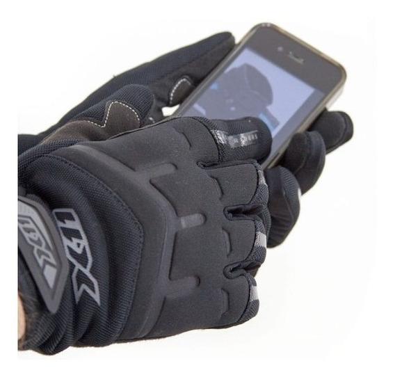 Luva X11 Fit Neoprene Touch Motoqueiro Motociclista Proteção