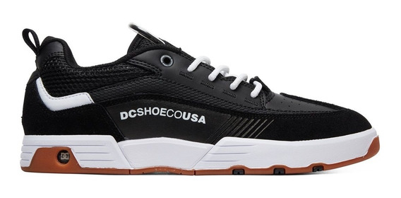 Tênis Dc Shoes Legacy Slim 98 - Black White