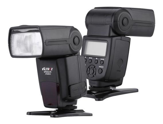 Flash Viltrox Jy 680a Jy680a P/ Canon Nikon Flash Universal