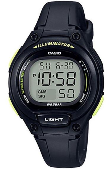 Relógio Casio Illuminator Infantil Lw-203-1bvdf Original