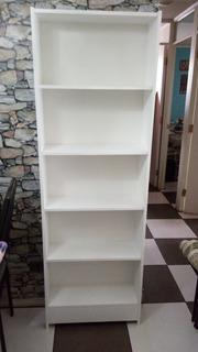 Librero Estante Modular 1.80 × 59.5 × 20 Fondocolor Blanco
