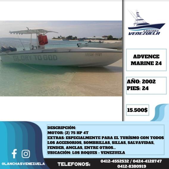Lancha Advence Marine 24 Lv502