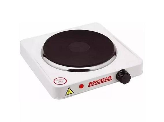 Anafe Electrico Brogas 1 Hornalla Art-an-01-p Saturno Hogar