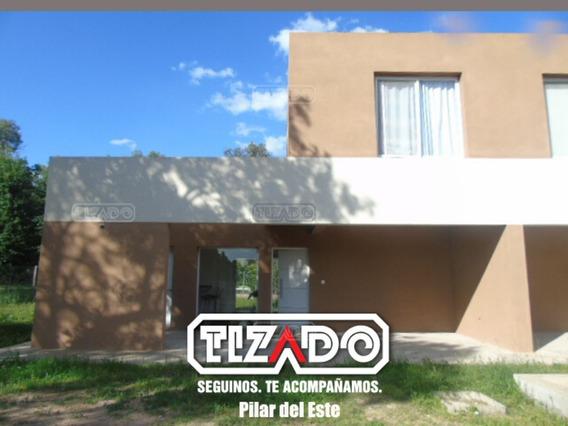 Casa En Alquiler 14 Ubicado En Eidico Casas, Pilar Del Este