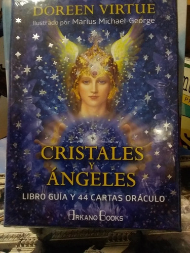Cristales Y Ángeles Doreen Virtue Libro Cartas Oraculo Envío