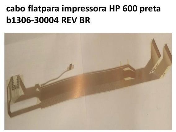 Cabo Flat Impressora Hp 600 Preta B1306-3(30mm De Largura)