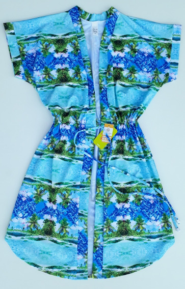 Vestido Saída De Praia Avulso Plus Size