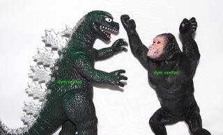 King Kong Vs Godzilla Muñecos Pack X 2 Juguete Día Del Niño