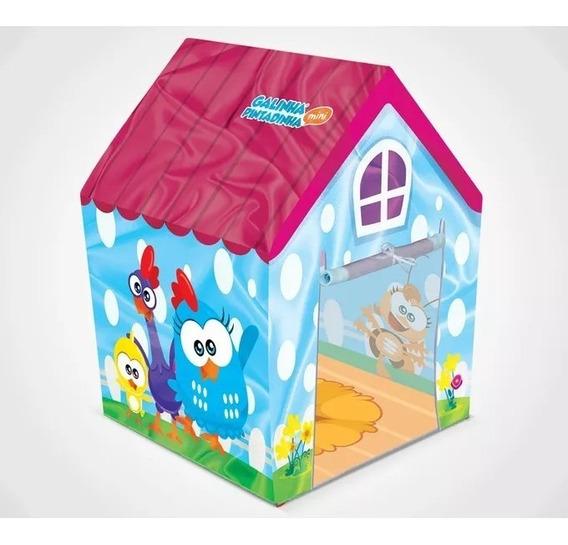 Casinha Galinha Pintadinha Mini - Líder Brinquedos