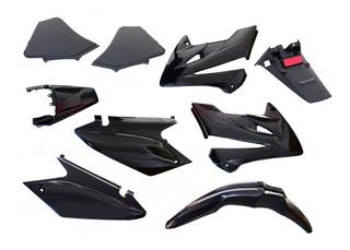 Kit De Plasticos Completo Honda Tornado 250 Negros Fas Motos