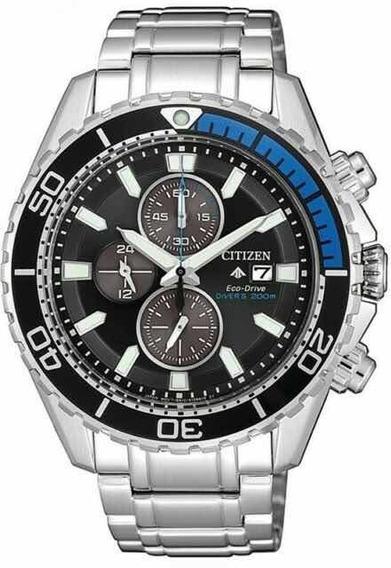 Relógio Citizen Eco Drive Promaster Diver Ca0719-53e