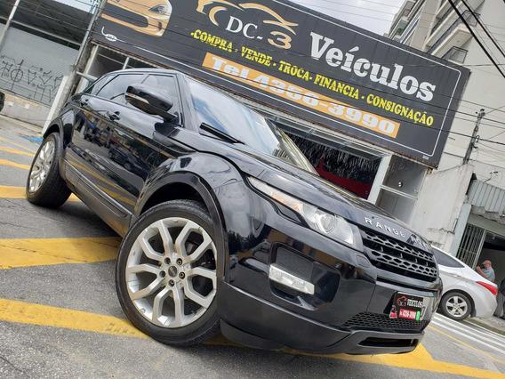 Lr Range Rover Evoque 2.0 Si4 4wd Pure - Bancos Caramelo