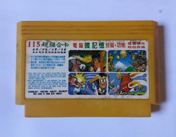 33 Em 1 Front Line Pooyan Contra Tetris Xevious Ninja Nes