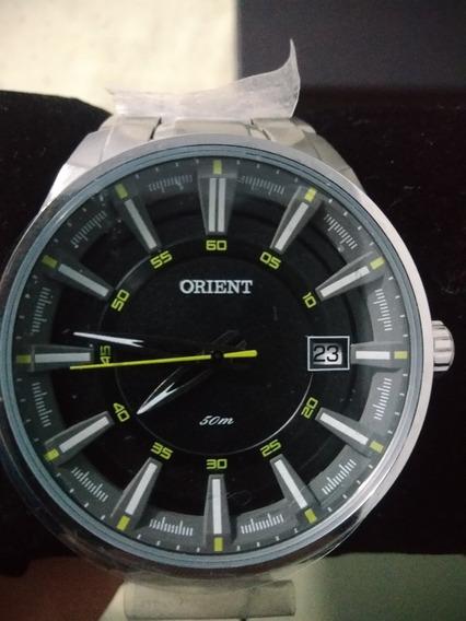 Relógio Orient Analógico Mbss1313 Aço Inoxidável Prateado