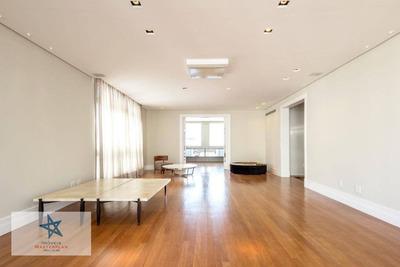 Belissímo Apartamento De Altíssimo Padrão 406m² Área Útil -reformado-3 Suítes-3 Vagas/deposito-r José Maria Lisboa -jd. Paulista -metrô Trianon Masp - Ap3933