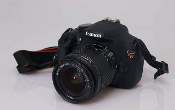 Canon T5 , 18 55 , Menos 19k De Clicks E Nota Fiscal