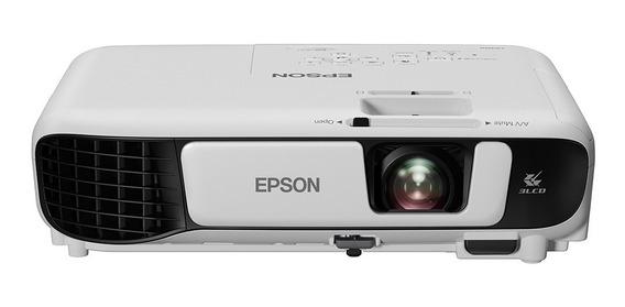 Projetor Epson Powerlite S41+ 3300 Lumens Svga - V11h842024 Original Lacrado C/ Garantia