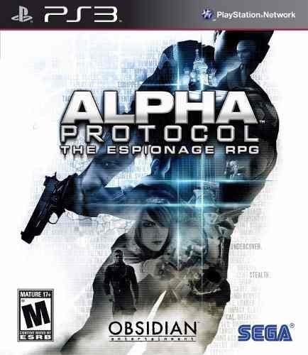 Alpha Protocol Ps3 Original - Mídia Física | Com Garantia!