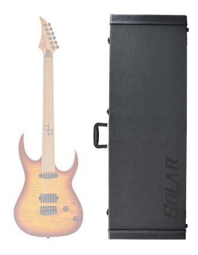 Hard Case Deluxe P/ Guitarra Solar Type A / S