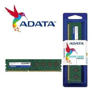 Adata Memoria Ram Para Pc Ddr3 2gb 1333mhz Dimm