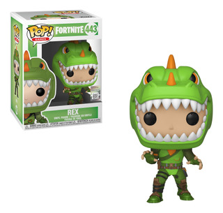 Figura Funko Pop Games Fortnite S1 - Rex 443