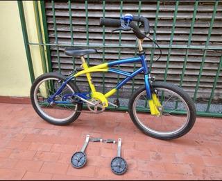 Bicicleta De Boquita Campeón Rodado 16 Usada
