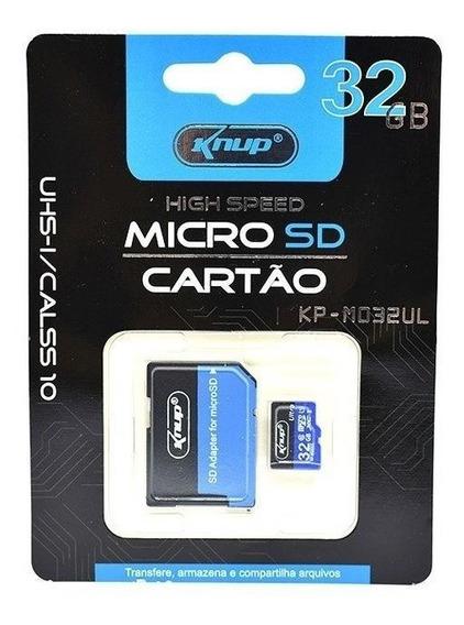 Cartao De Memoria 32gb Classe 10 Ultra Velocidade