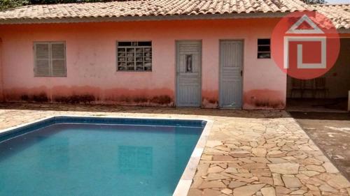 Chácara Com 3 Dormitórios À Venda, 1000 M² Por R$ 350.000,00 - Água Comprida - Bragança Paulista/sp - Ch0098