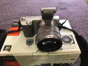 Câmera Sony Nex 5 Com Lente 18-55mm