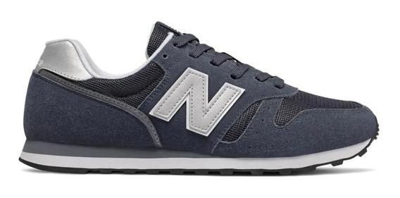 Zapatillas New Balance 373 Hombre Vintage - Azul