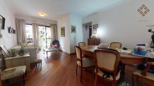 Imagem 1 de 14 de Apartamento Com 3 Dormitórios À Venda, 95 M² Por R$ 1.580.000,00 - Moema Índios - São Paulo/sp - Ap46941