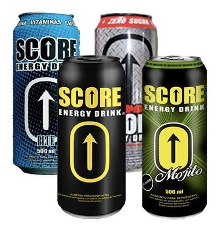 Mix Energética Score Energy Drink 500cc (12 Unidades)