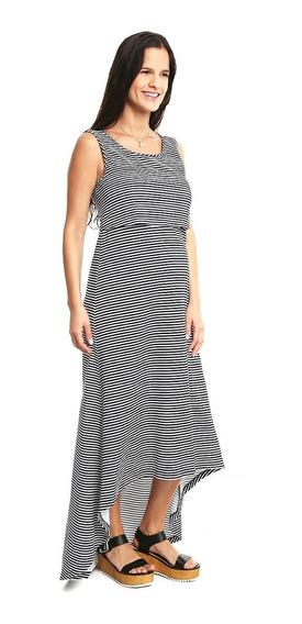 Vestido Maternidad Y Lactancia Maxivestido Nb Ropa De Mujer