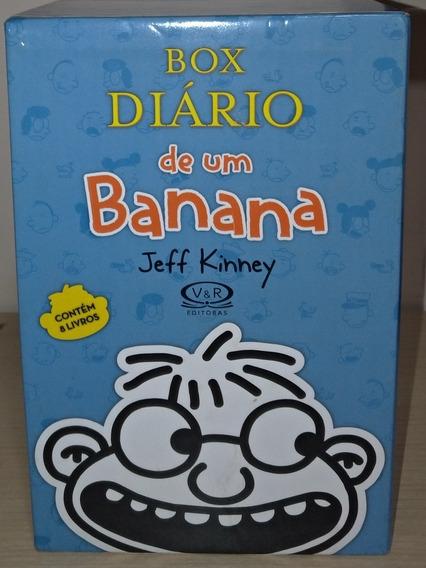 Box Diário De Um Banana 8 Livros
