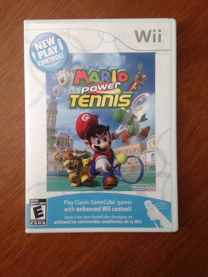 Mario Tennis Mídia Física Original Nintendo Wii
