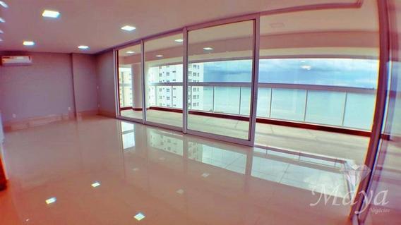Apartamento 4 Suítes, 237 M² C/ Armários E Ar Na Praia Da Graciosa - Vision Residence - Ap0081