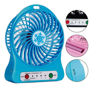 Mini Ventilador Abanico Portatil Recargable