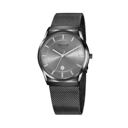 Relógio De Pulso Masculino Seculus Cód. 23658gpsvsa2