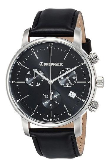 Relógio Social Suíço Wenger Urban Classic Chrono 01.1743.102