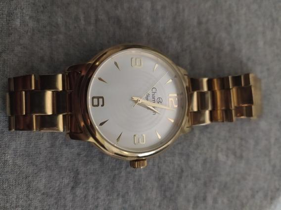 Relógio Champion Feminino Elegance Analógico.